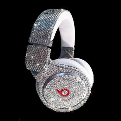 Diamond studded beats by Dr. Dre
