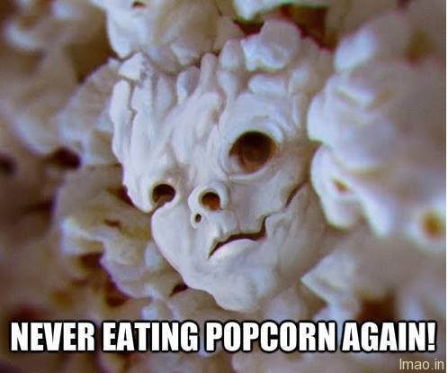 never-eat-popcorn humorous photos