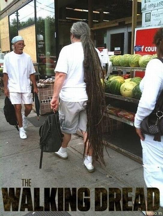 the-walking-dread humorous photos
