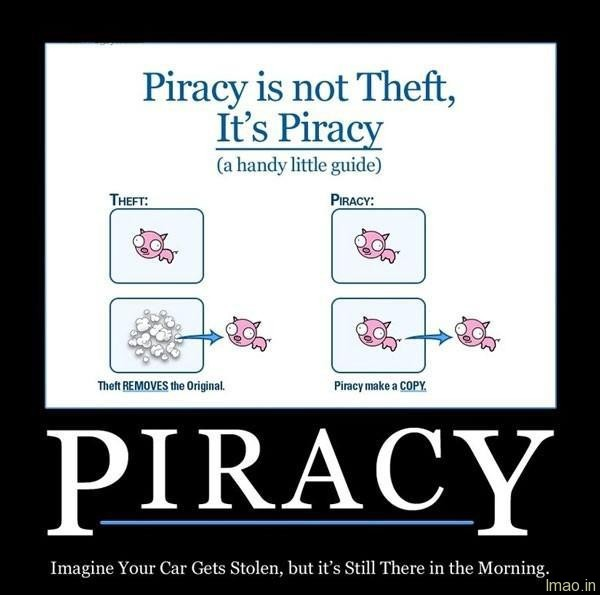 piracy-not-theft humorous photos