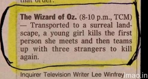 wizard-of-oz humorous photos
