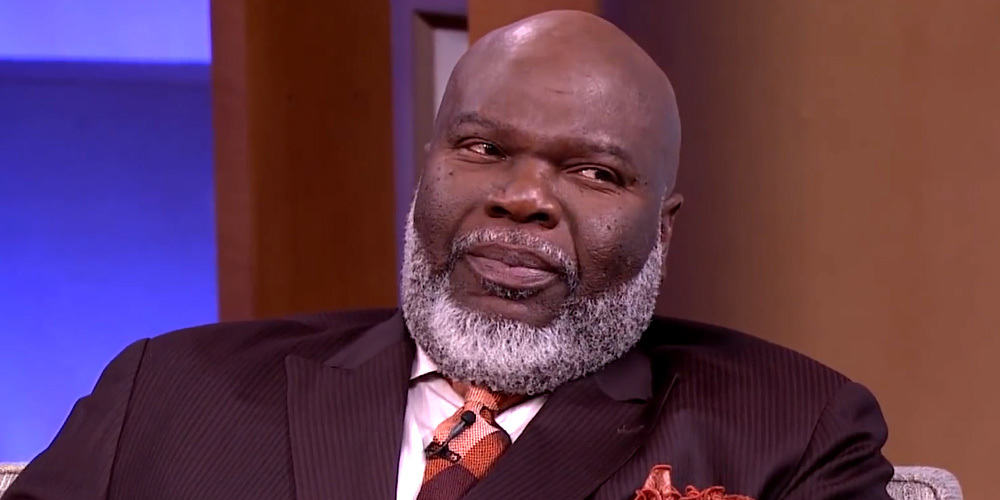 Bishop TD Jakes one of the richest pastors