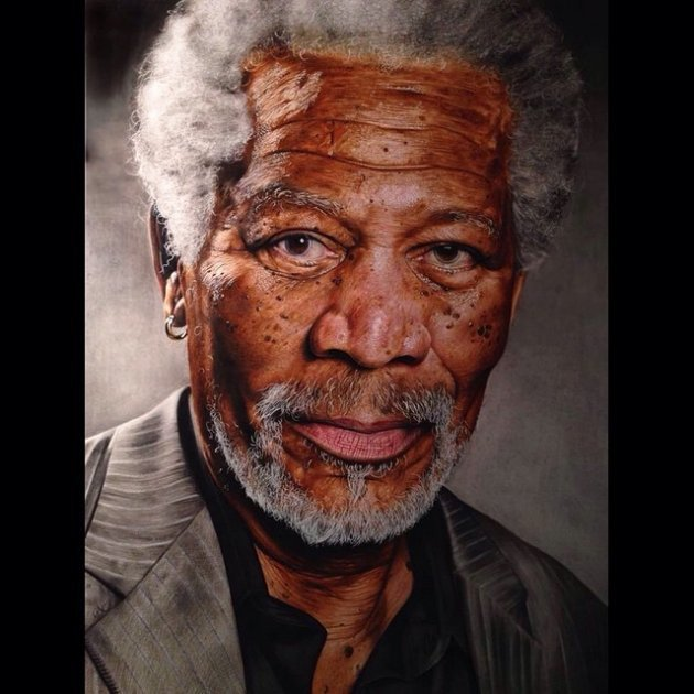 morgan-freeman photograph