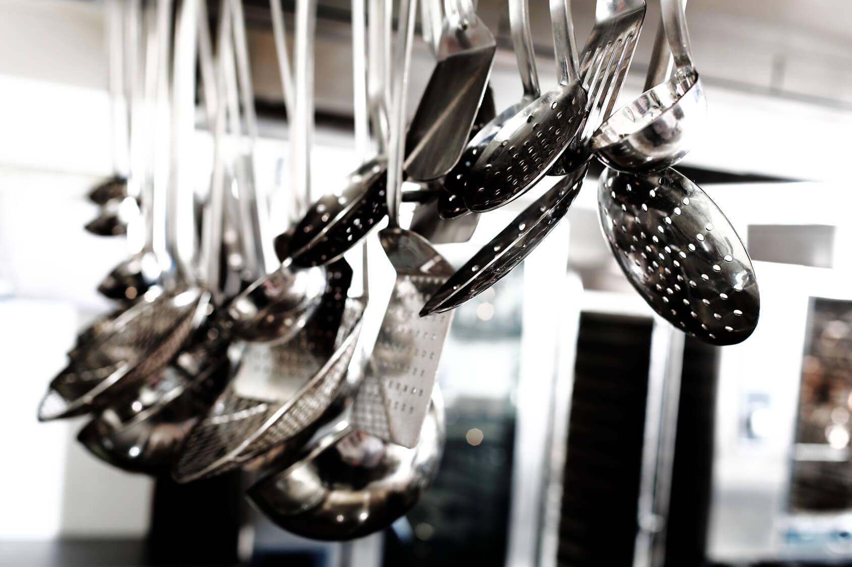 Professional kitchen restaurants