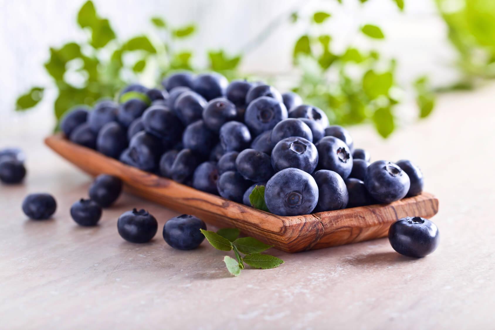 Blueberries foods