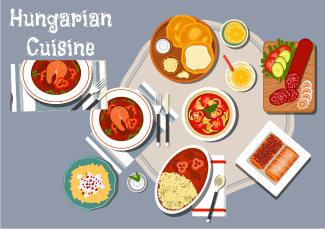 Hungarian dishes