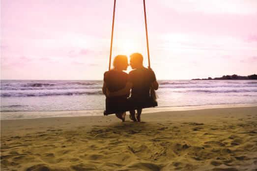 romantic vacation